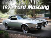 1971 ford Ford Mustang 76D Convertible - Standard Interior -